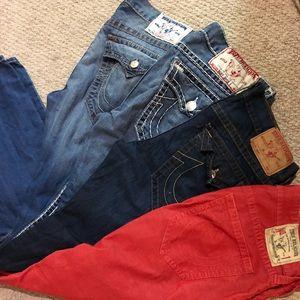 100% Authentic True Religion Jeans!!